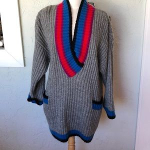 ESCADA Sweater V neck with Tunic Style